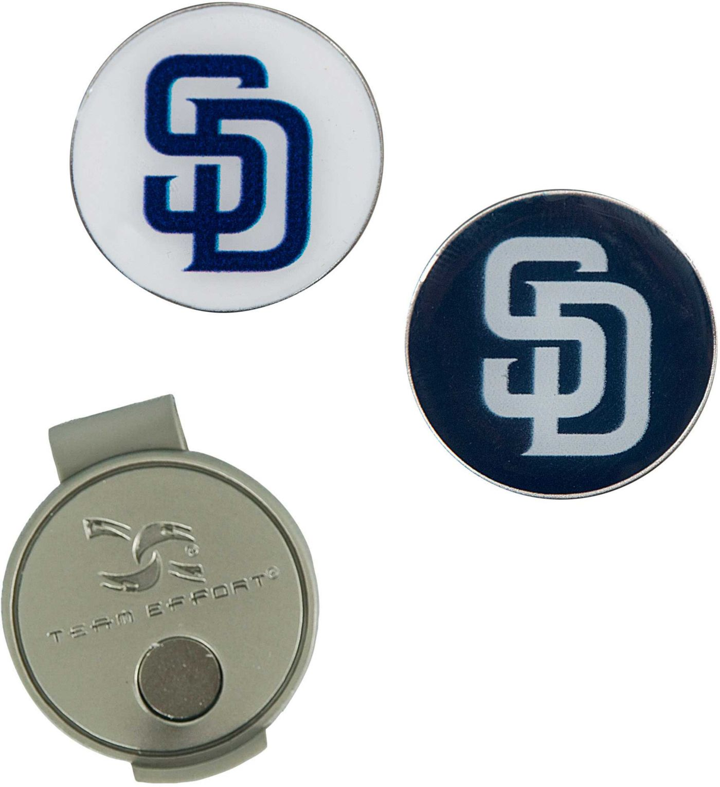 Team Effort San Diego Padres Hat Clip and Ball Markers Set