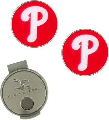 Team Effort Philadelphia Phillies Hat Clip and Ball Markers Set