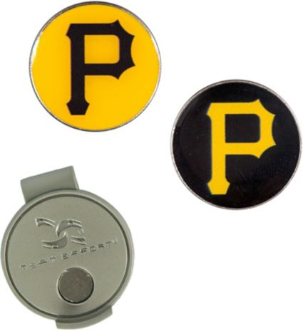 Team Effort Pittsburgh Pirates Hat Clip and Ball Markers Set