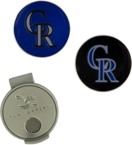 Team Effort Colorado Rockies Hat Clip and Ball Markers Set