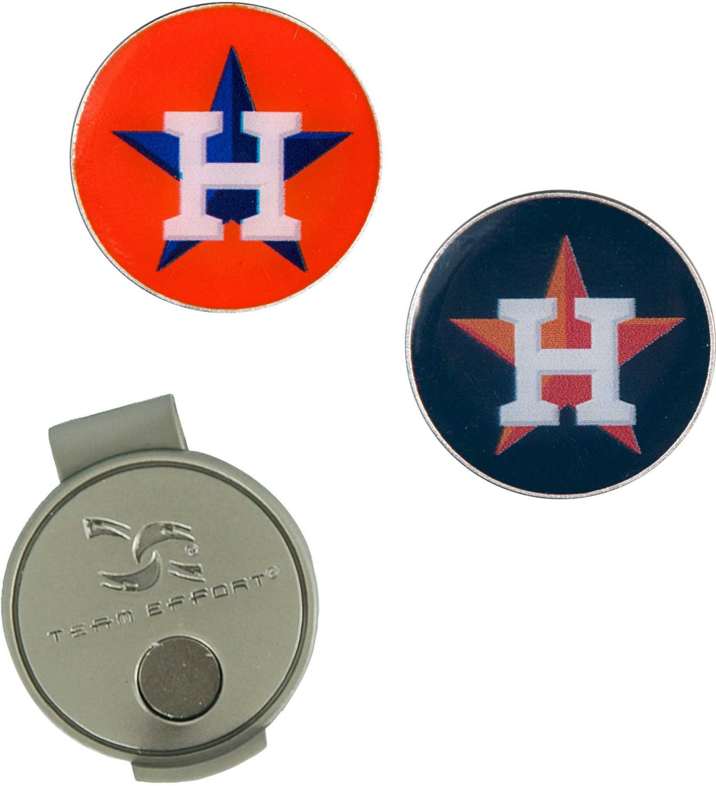 Team Effort Houston Astros Hat Clip and Ball Markers Set