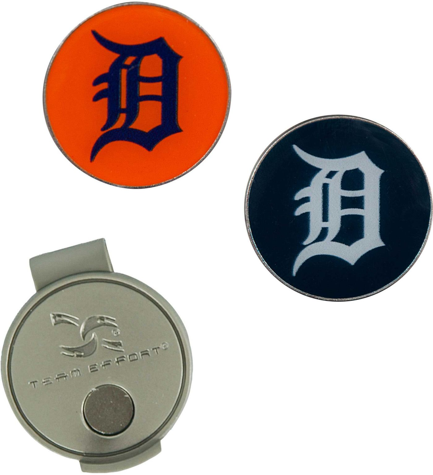 Team Effort Detroit Tigers Hat Clip and Ball Markers Set