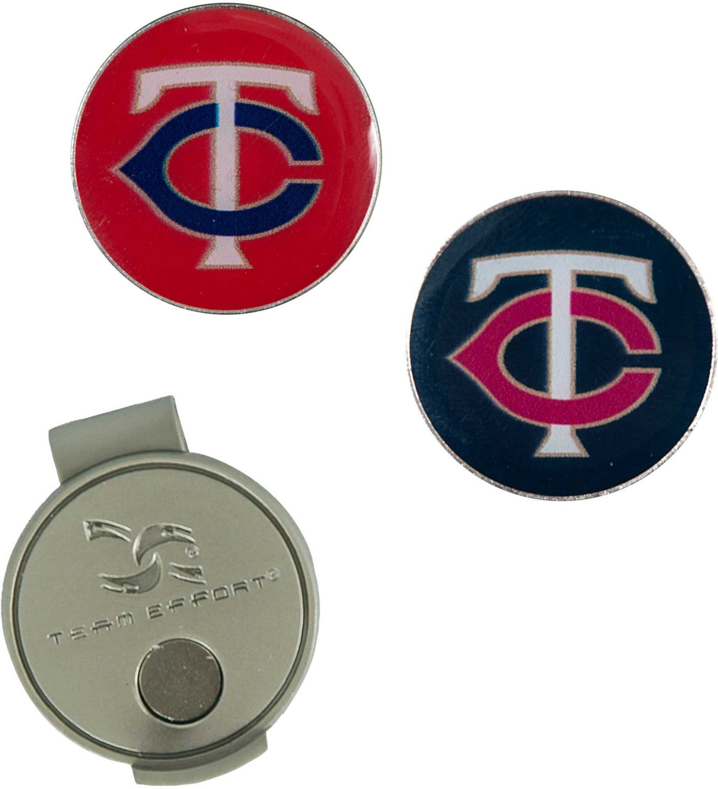 Team Effort Minnesota Twins Hat Clip and Ball Markers Set