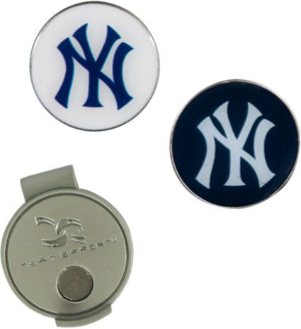 Team Effort New York Yankees Hat Clip and Ball Markers Set