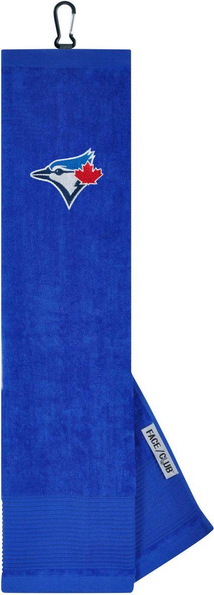 Team Effort Toronto Blue Jays Embroidered Face/Club Tri-Fold Towel