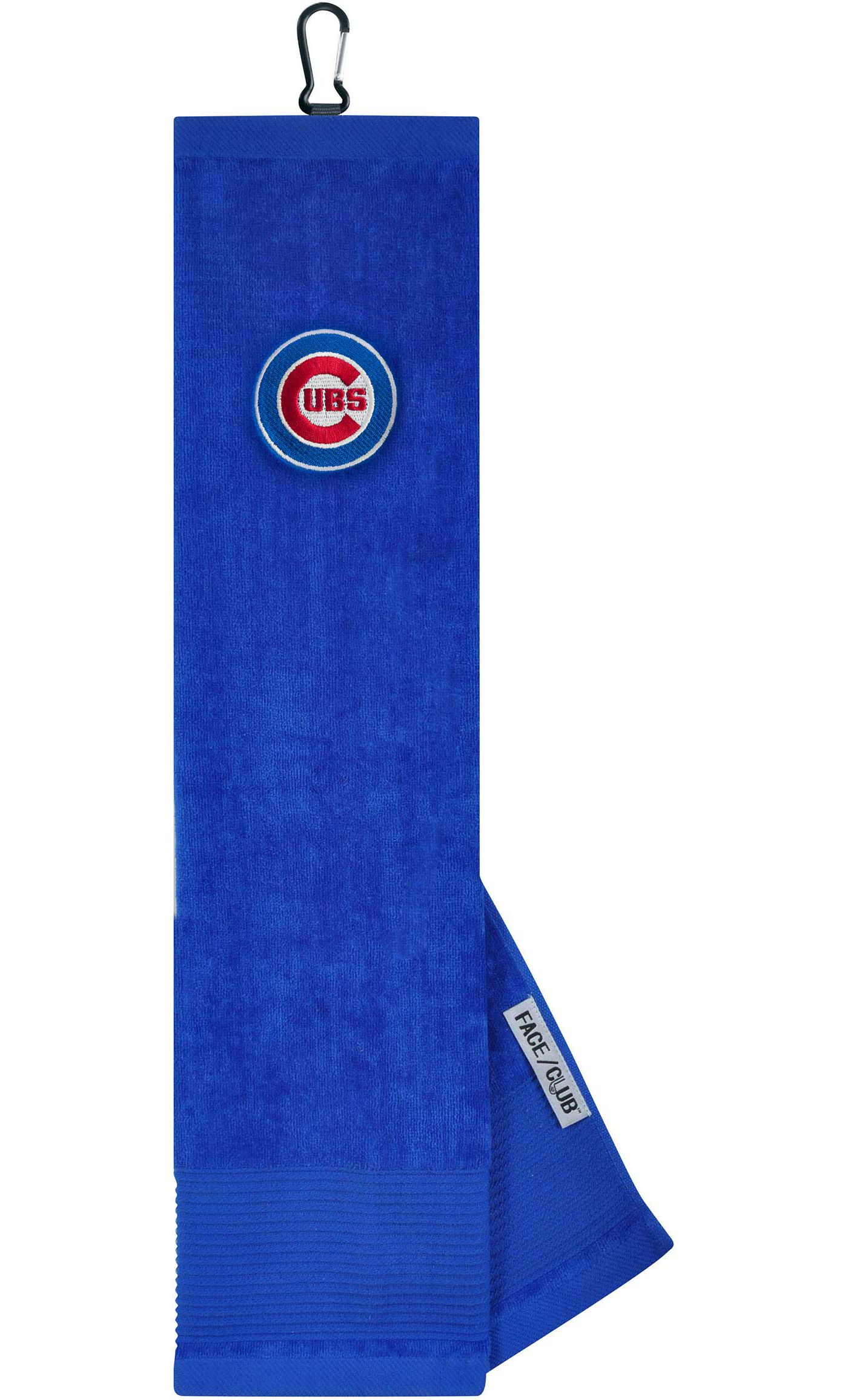Team Effort Chicago Cubs Embroidered Face/Club Tri-Fold Towel