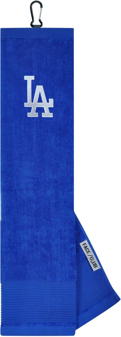 Team Effort Los Angeles Dodgers Embroidered Face/Club Tri-Fold Towel