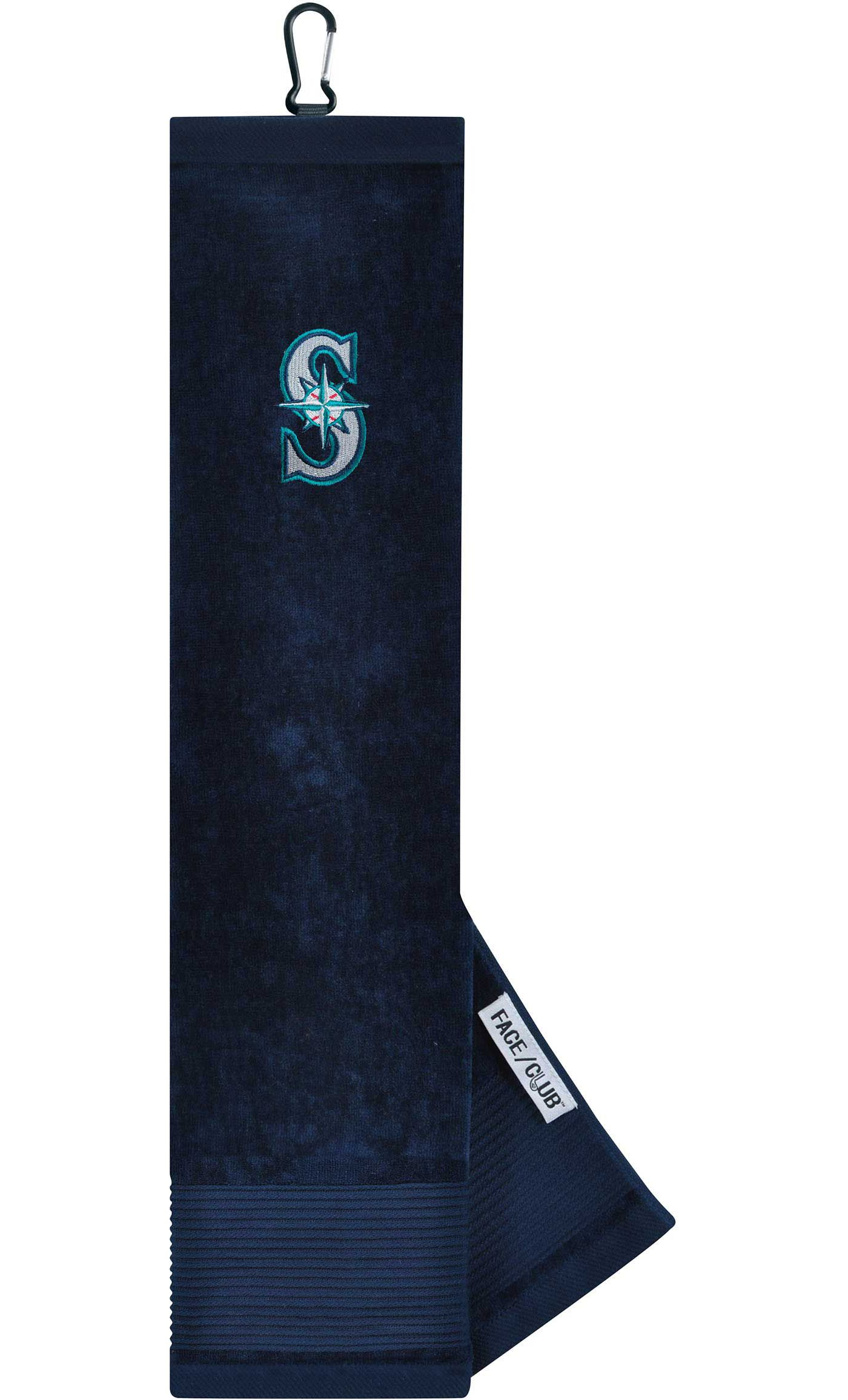 Team Effort Seattle Mariners Embroidered Face/Club Tri-Fold Towel