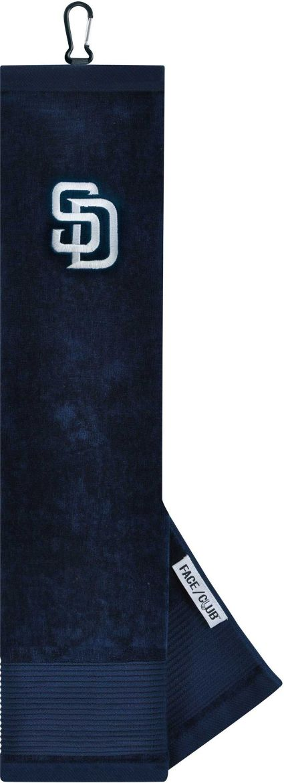 Team Effort San Diego Padres Embroidered Face/Club Tri-Fold Towel