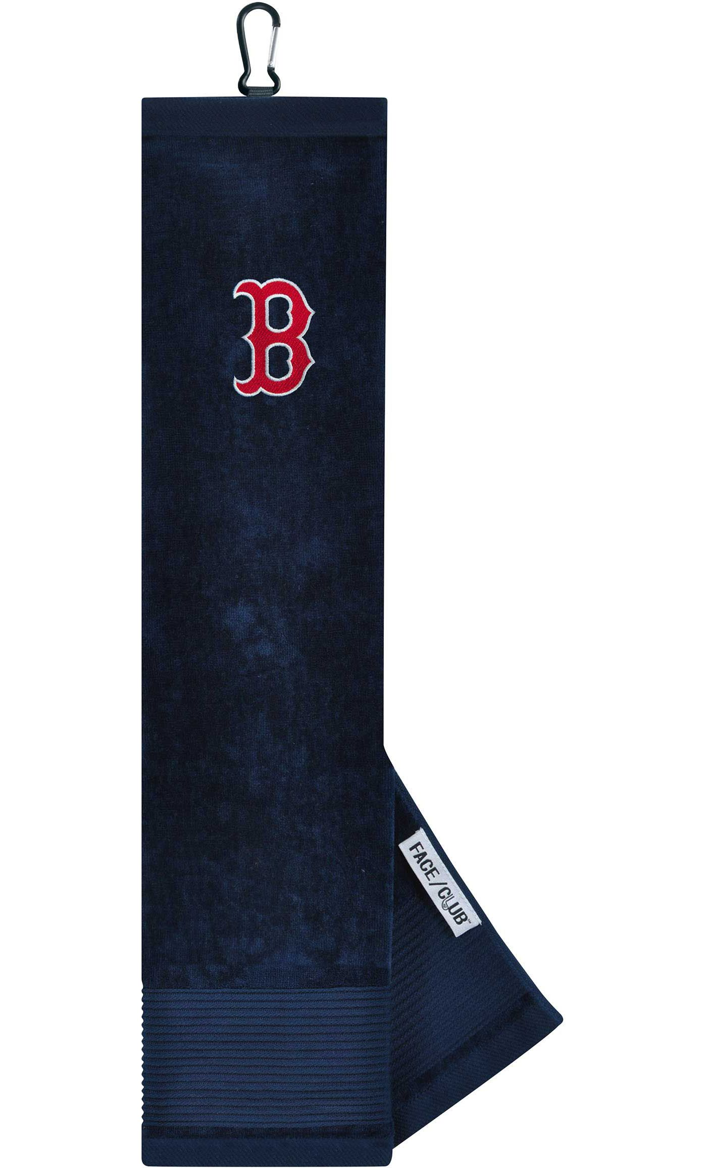 Team Effort Boston Red Sox Embroidered Face/Club Tri-Fold Towel