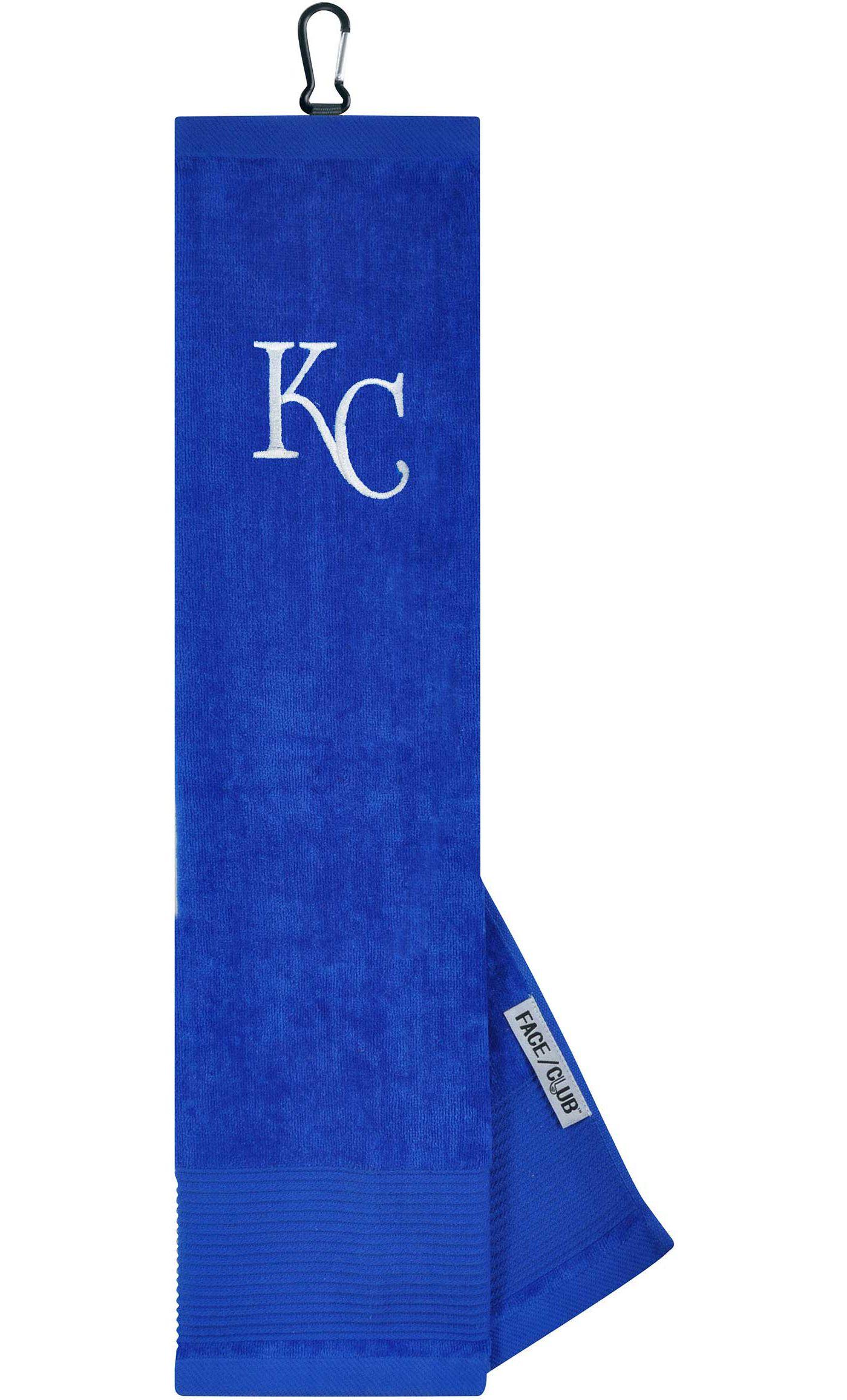 Team Effort Kansas City Royals Embroidered Face/Club Tri-Fold Towel