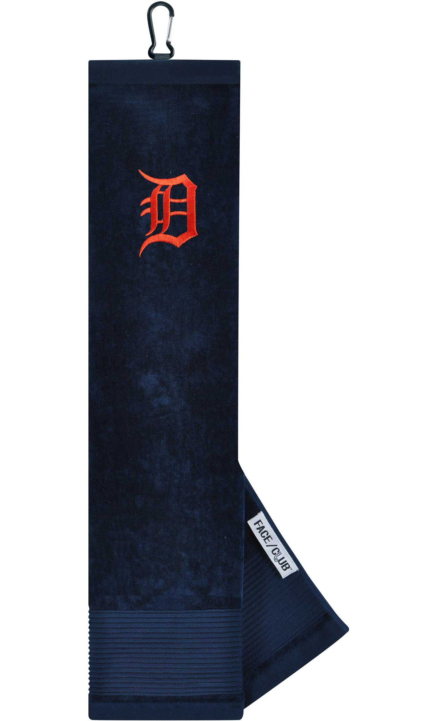 Team Effort Detroit Tigers Embroidered Face/Club Tri-Fold Towel