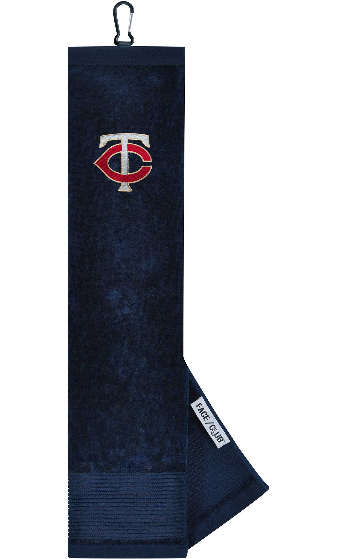 Team Effort Minnesota Twins Embroidered Face/Club Tri-Fold Towel