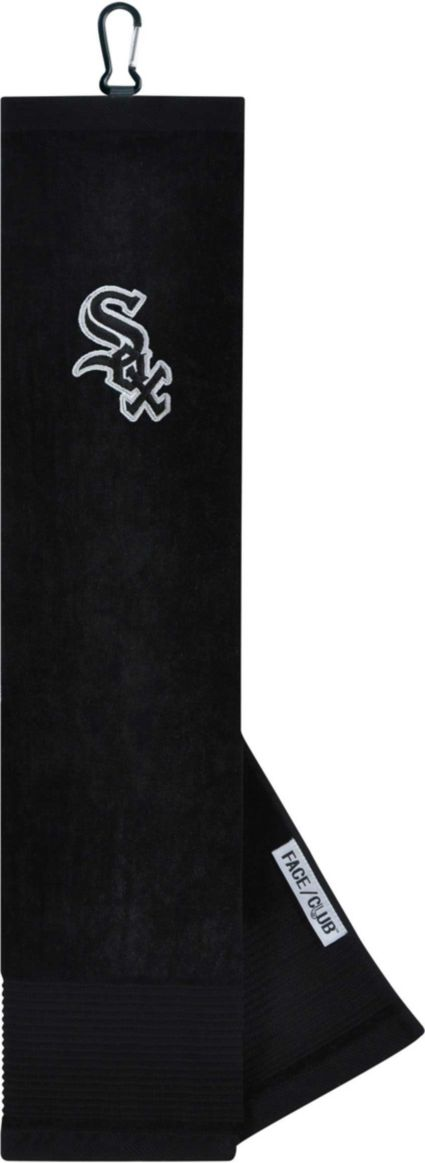 Team Effort Chicago White Sox Embroidered Face/Club Tri-Fold Towel