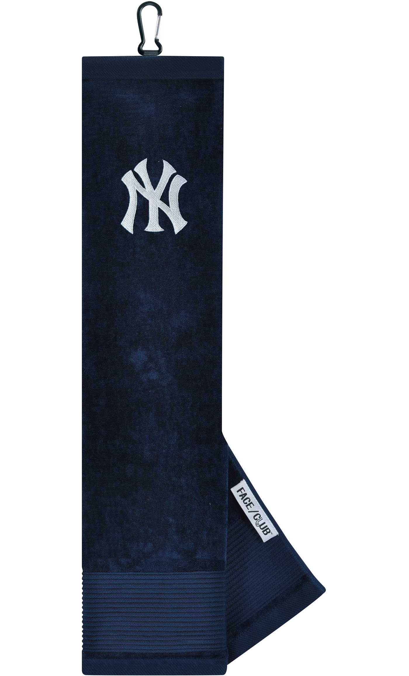 Team Effort New York Yankees Embroidered Face/Club Tri-Fold Towel