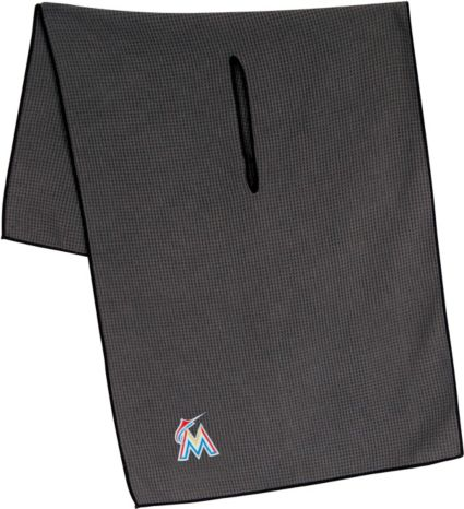 "Team Effort Miami Marlins 19"" x 41"" Microfiber Golf Towel"