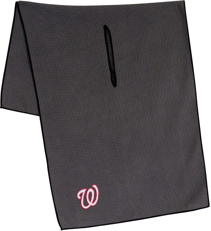 "Team Effort Washington Nationals 19"" x 41"" Microfiber Golf Towel"