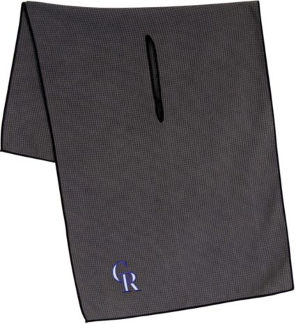 "Team Effort Colorado Rockies 19"" x 41"" Microfiber Golf Towel"