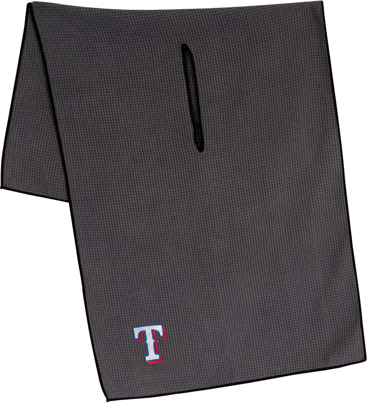 "Team Effort Texas Rangers 19"" x 41"" Microfiber Golf Towel"