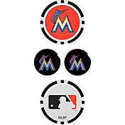 Team Effort Miami Marlins Ball Marker Set