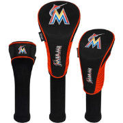 Team Effort Miami Marlins Headcovers - 3 Pack