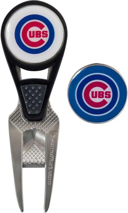 Team Effort Chicago Cubs CVX Divot Tool and Ball Marker Set
