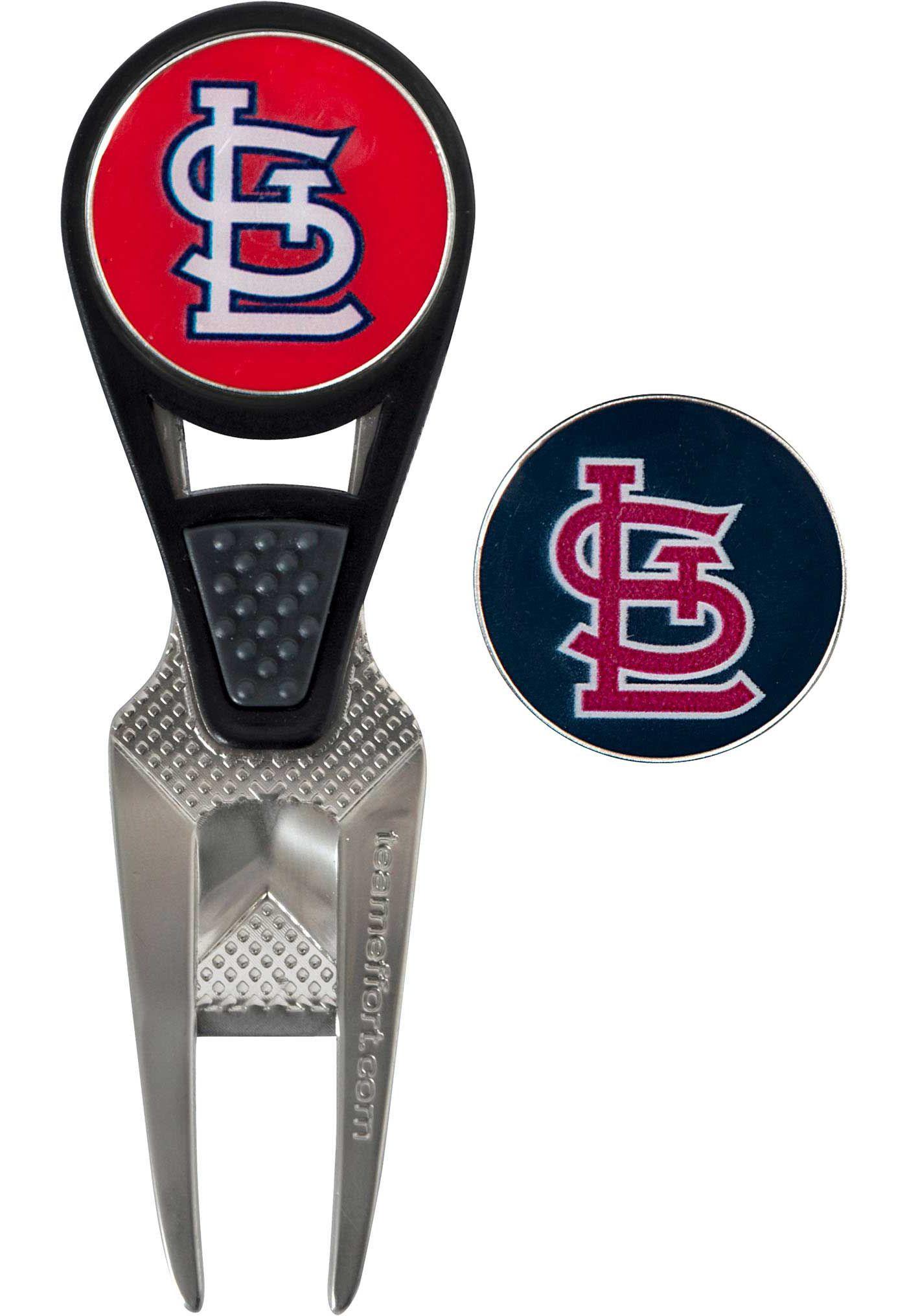 Team Effort St. Louis Cardinals CVX Divot Tool and Ball Marker Set