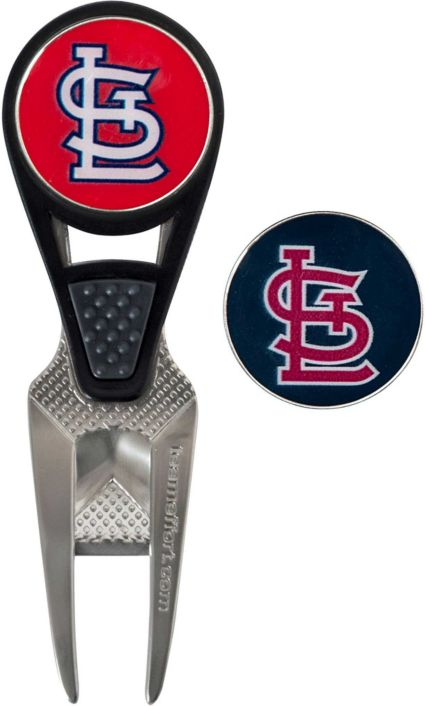Team Effort St. Louis Cardinals CVX Divot Tool and Ball Marker Set