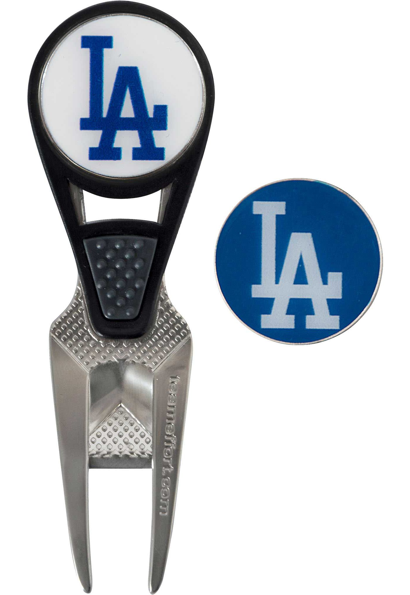 Team Effort Los Angeles Dodgers CVX Divot Tool and Ball Marker Set