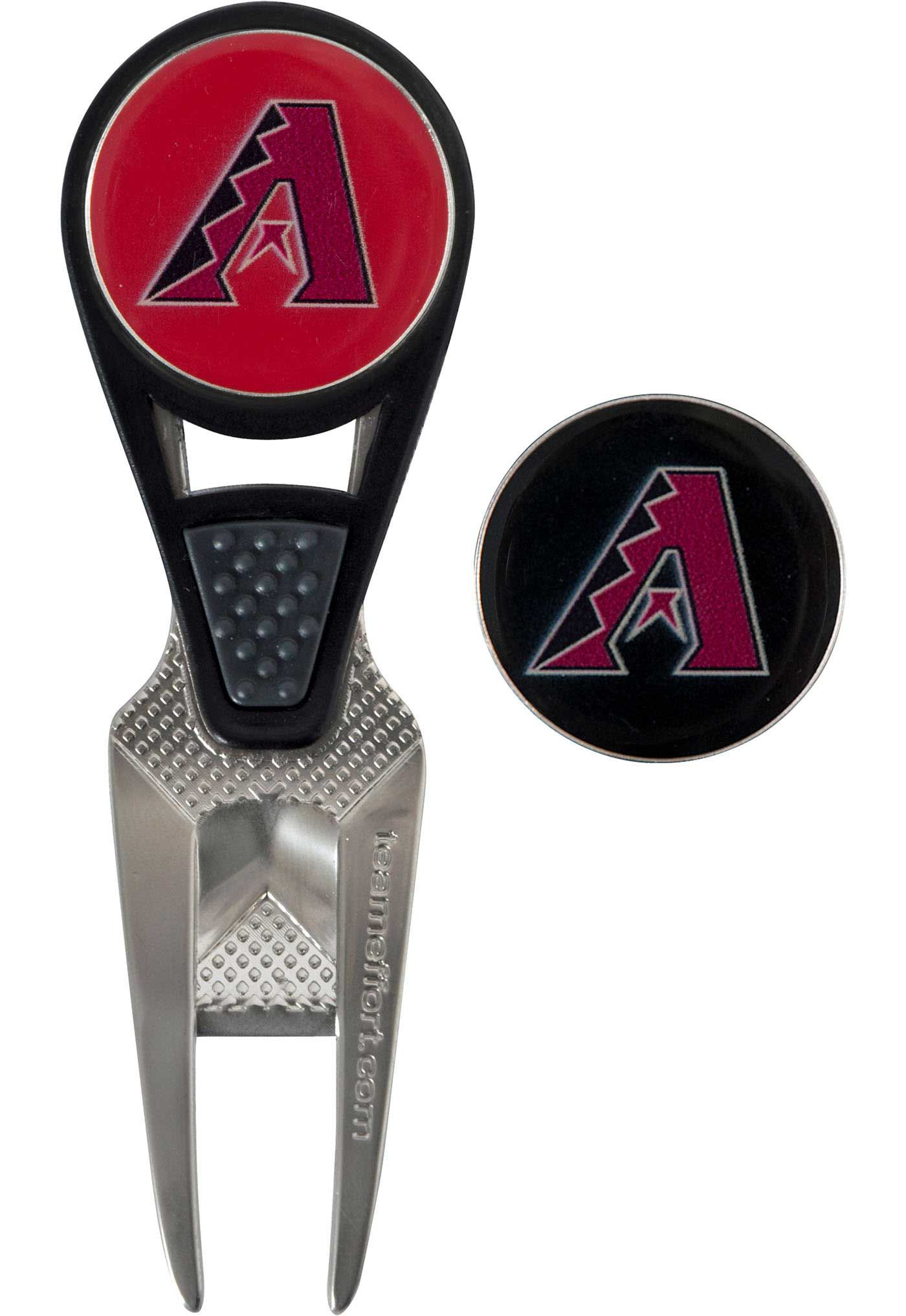 Team Effort Arizona Diamondbacks CVX Divot Tool and Ball Marker Set