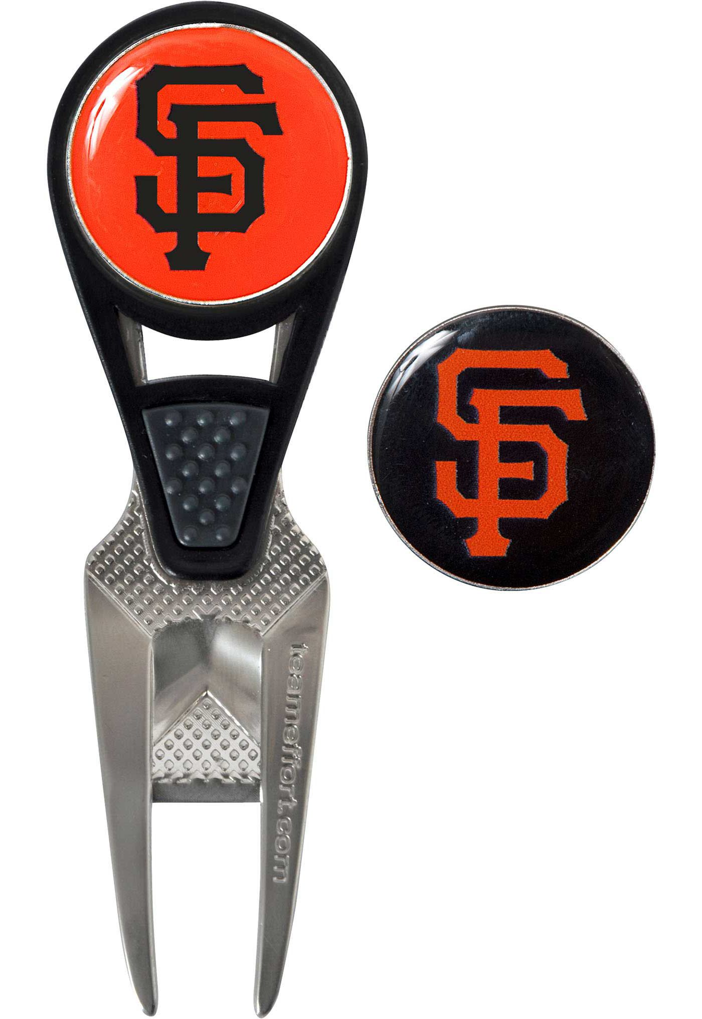 Team Effort San Francisco Giants CVX Divot Tool and Ball Marker Set