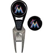 Team Effort Miami Marlins CVX Divot Tool and Ball Marker Set