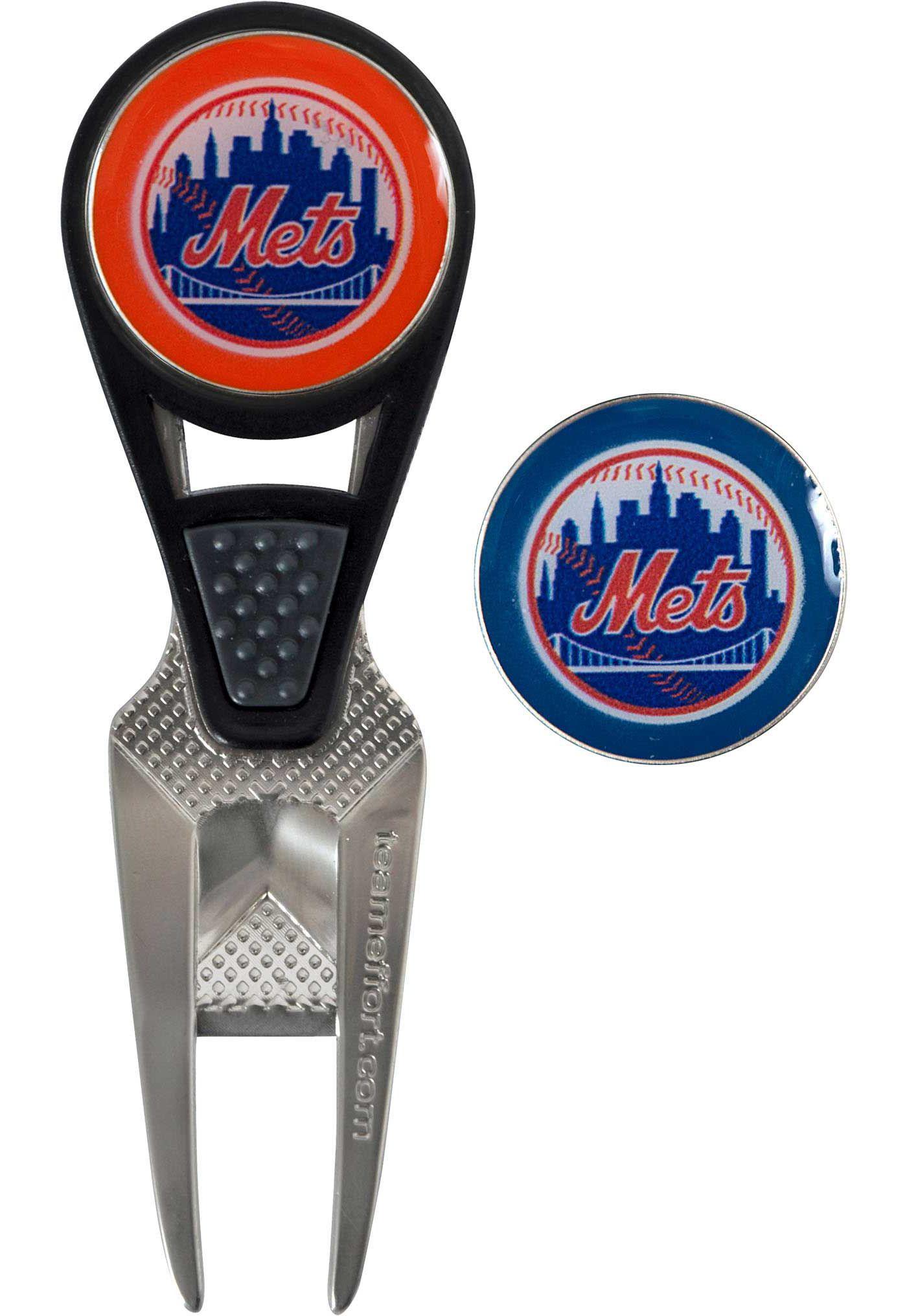 Team Effort New York Mets CVX Divot Tool and Ball Marker Set