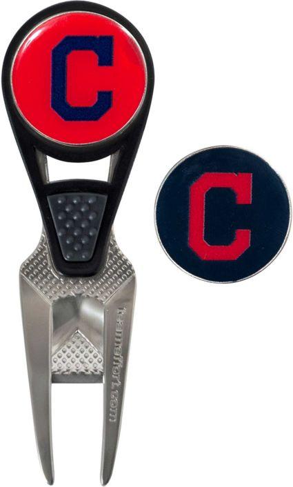 Team Effort Cleveland Indians CVX Divot Tool and Ball Marker Set