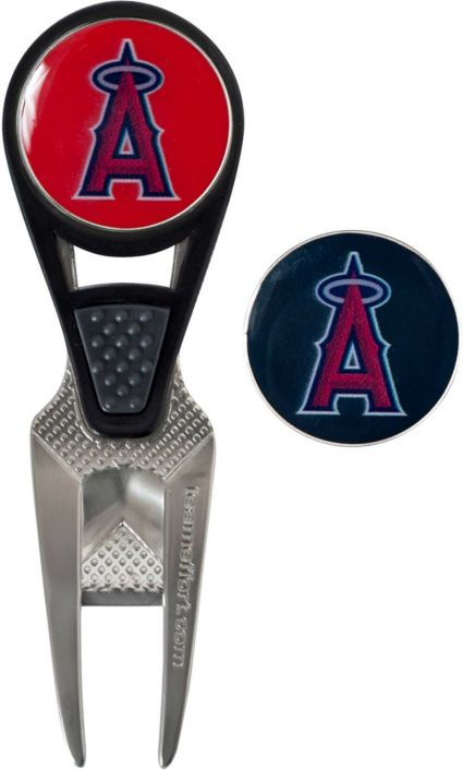 Team Effort Los Angeles Angels CVX Divot Tool and Ball Marker Set
