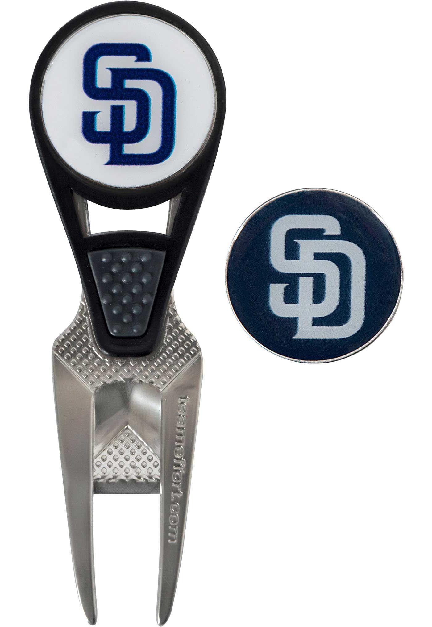 Team Effort San Diego Padres CVX Divot Tool and Ball Marker Set