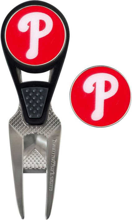 Team Effort Philadelphia Phillies CVX Divot Tool and Ball Marker Set
