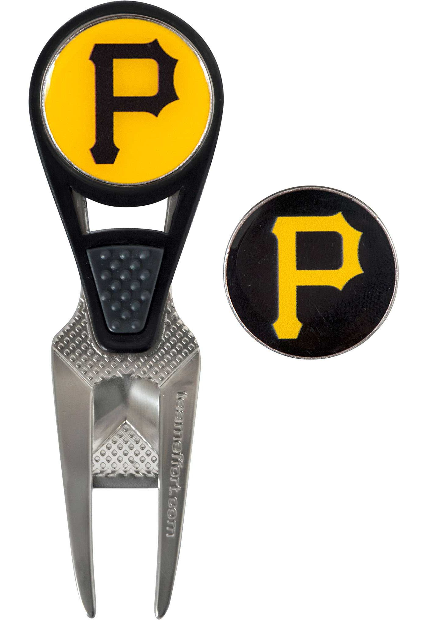 Team Effort Pittsburgh Pirates CVX Divot Tool and Ball Marker Set