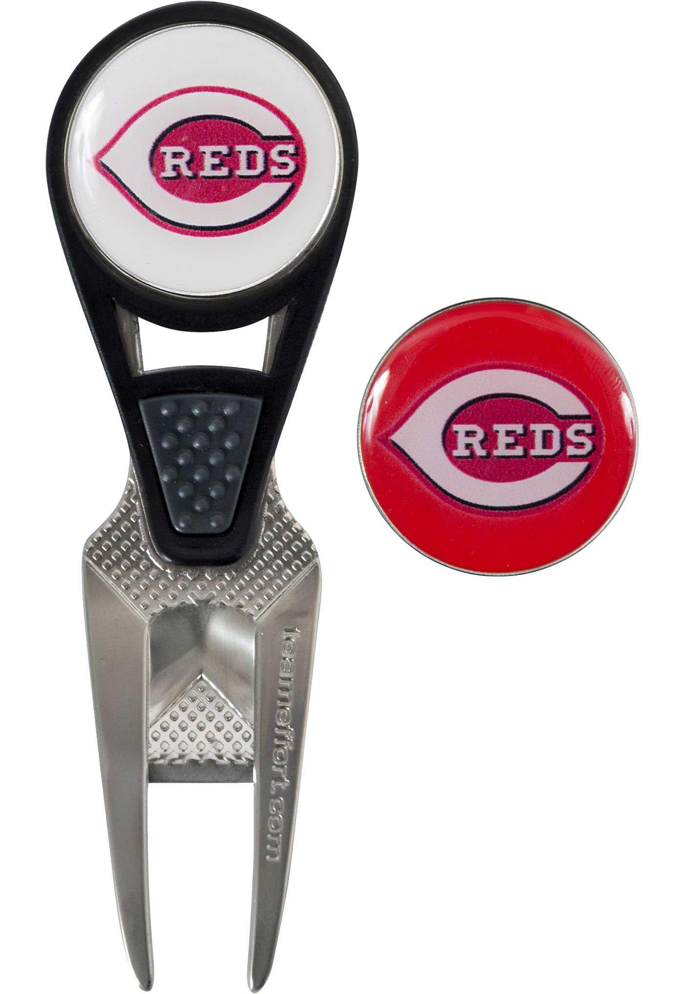 Team Effort Cincinnati Reds CVX Divot Tool and Ball Marker Set