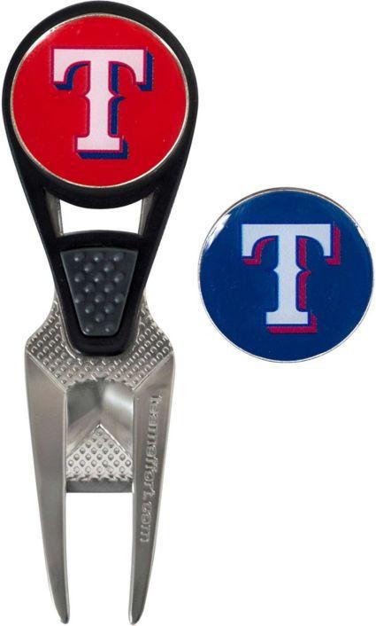 Team Effort Texas Rangers CVX Divot Tool and Ball Marker Set