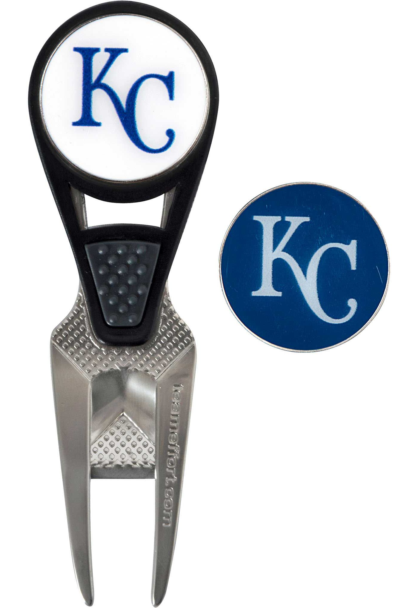 Team Effort Kansas City Royals CVX Divot Tool and Ball Marker Set