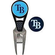 Team Effort Tampa Bay Rays CVX Divot Tool and Ball Marker Set