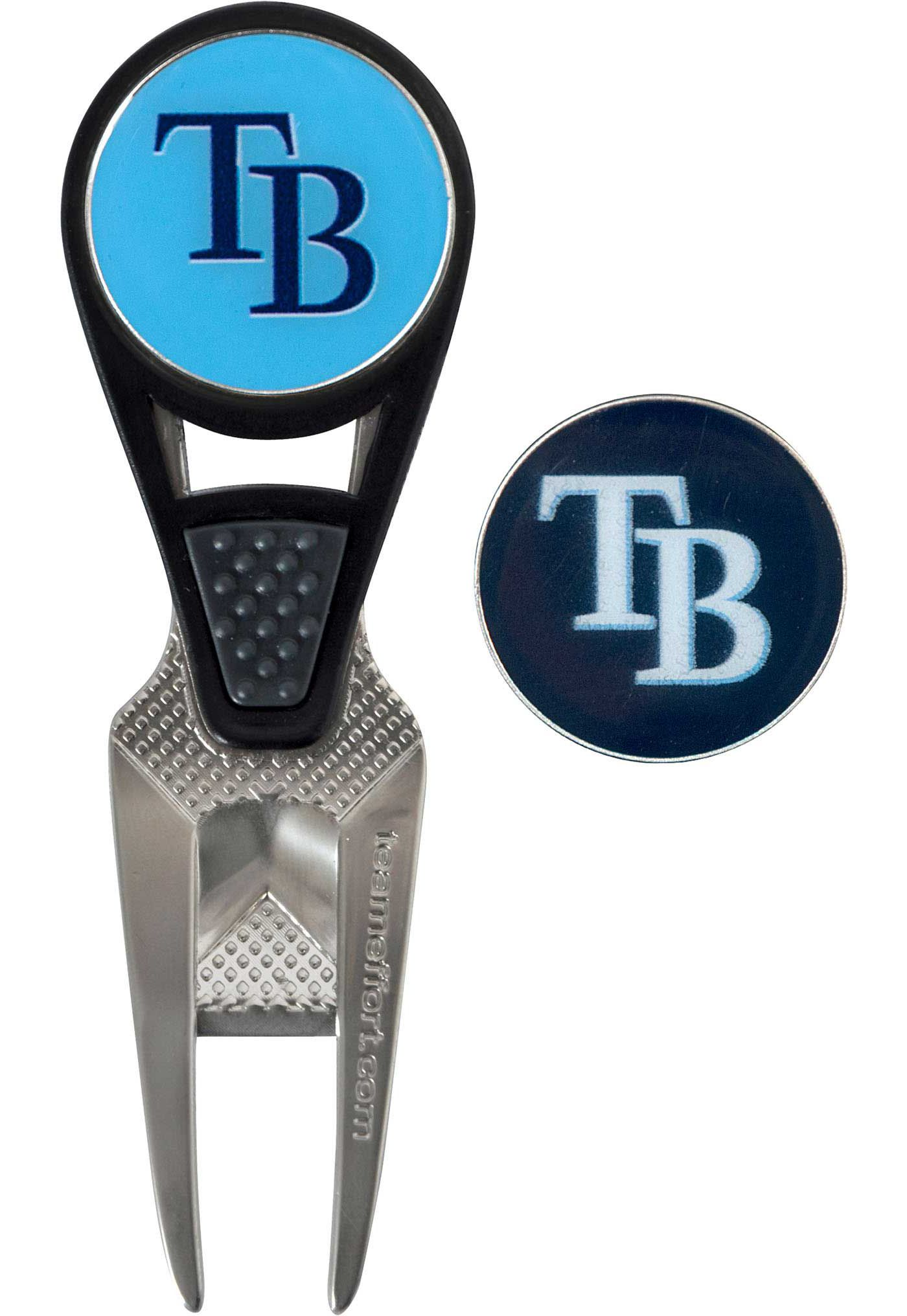 Team Effort Tampa Bay Rays CVX Divot Tool and Ball Marker Set