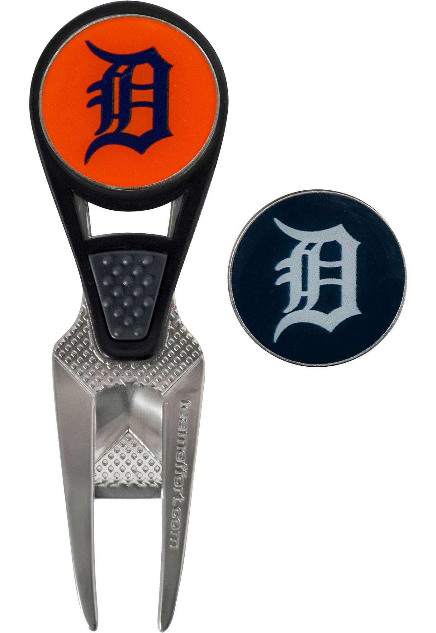 Team Effort Detroit Tigers CVX Divot Tool and Ball Marker Set