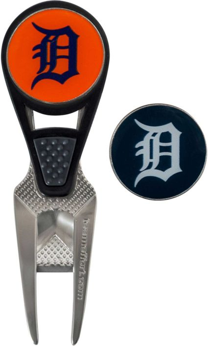 Team Effort Detroit Tigers CVX Divot Tool and Ball Marker Set