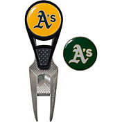 Team Effort Oakland Athletics CVX Divot Tool and Ball Marker Set