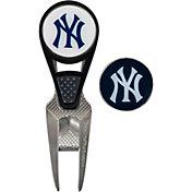 Team Effort New York Yankees CVX Divot Tool and Ball Marker Set