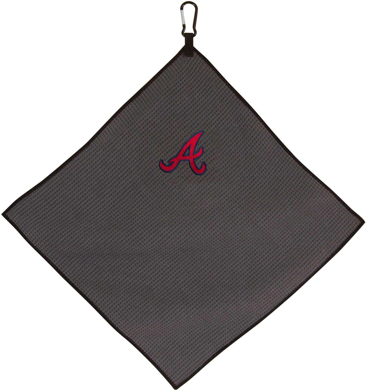"Team Effort Atlanta Braves 15"" x 15"" Microfiber Golf Towel"