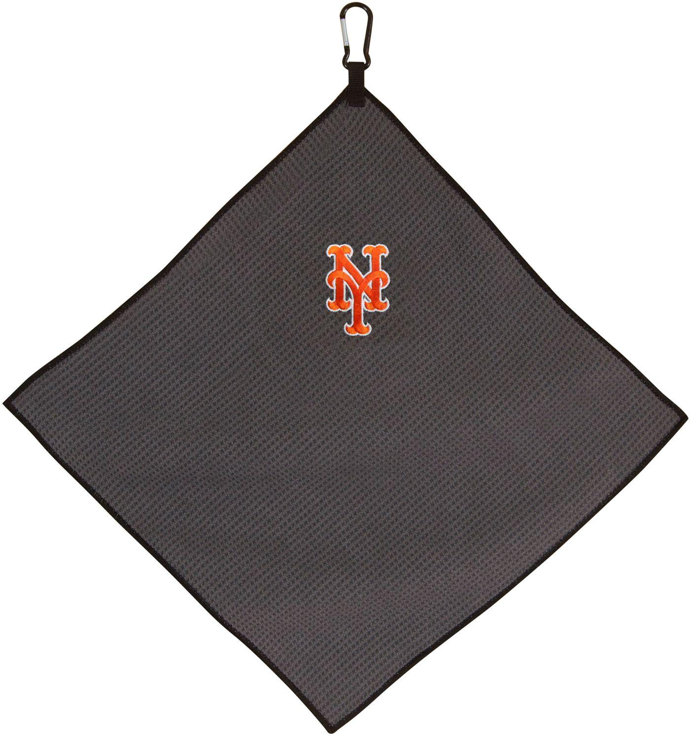 """Team Effort New York Mets 15"""" x 15"""" Microfiber Golf Towel"""