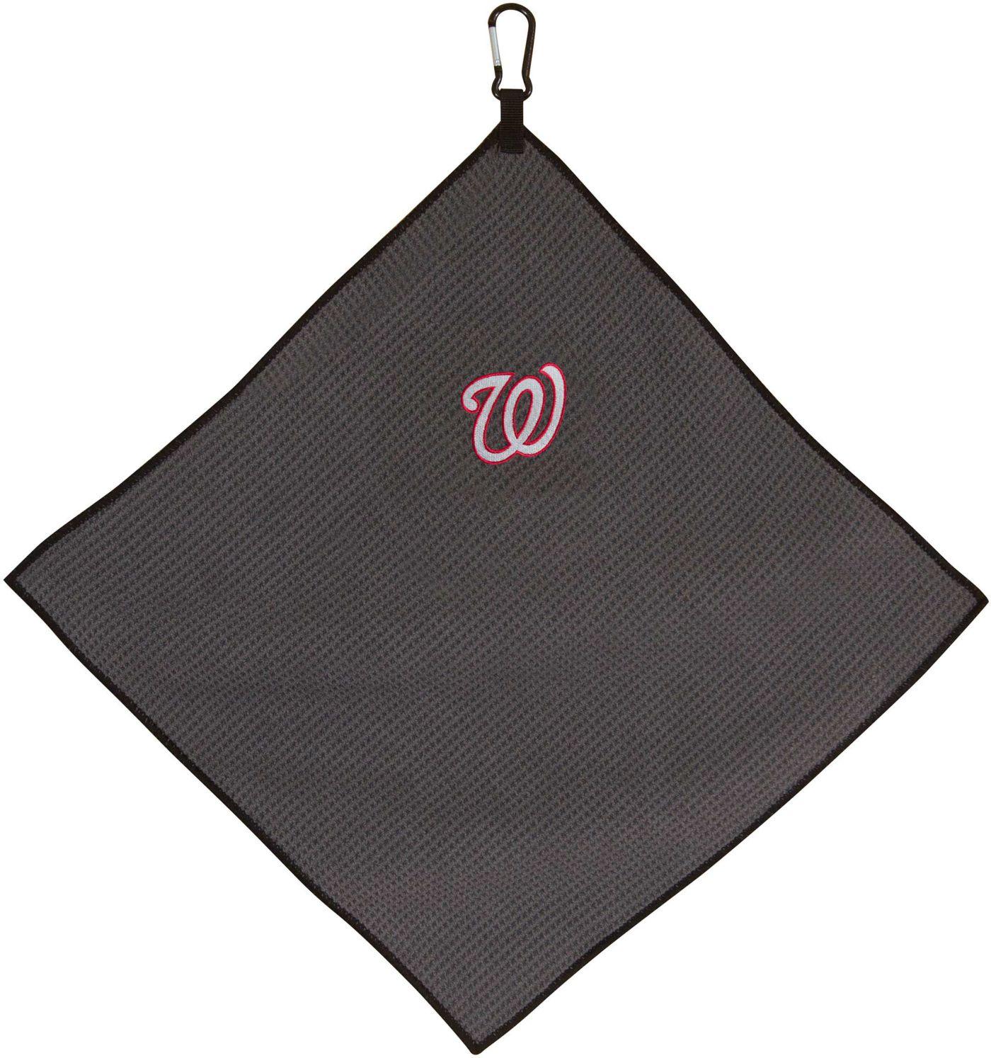 "Team Effort Washington Nationals 15"" x 15"" Microfiber Golf Towel"